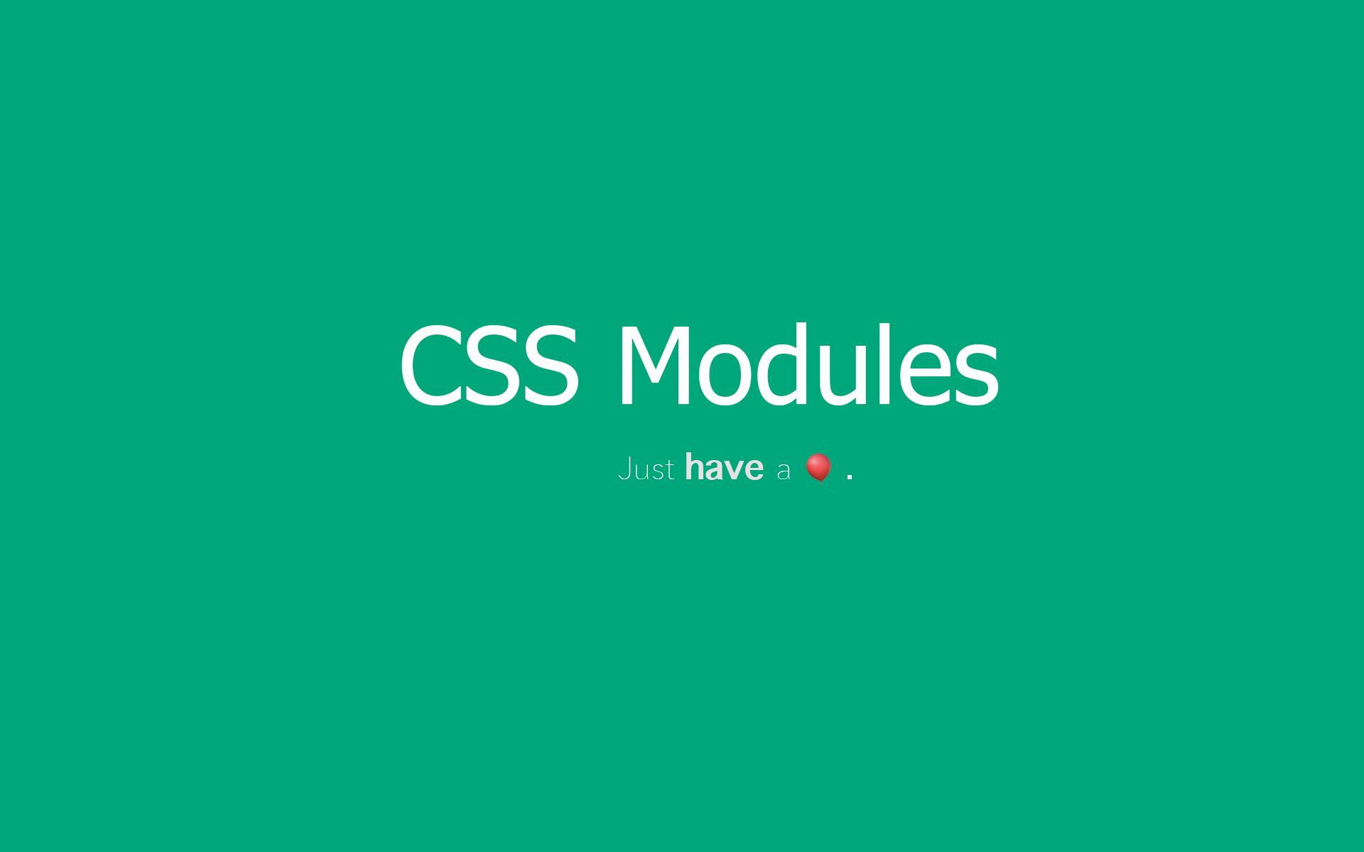 CSS Modules