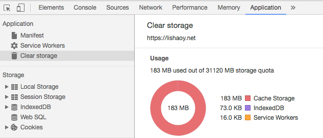 fstorage quota